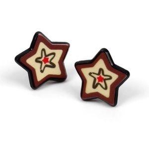 Christmas Stars Stud Earrings